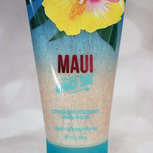 BBW Maui Crushed Coconut Body Scrub